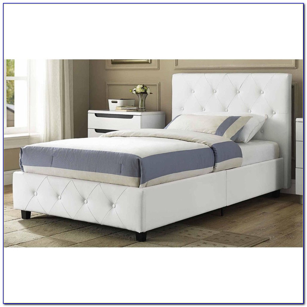 Queen Bed Frame With Headboard Wood