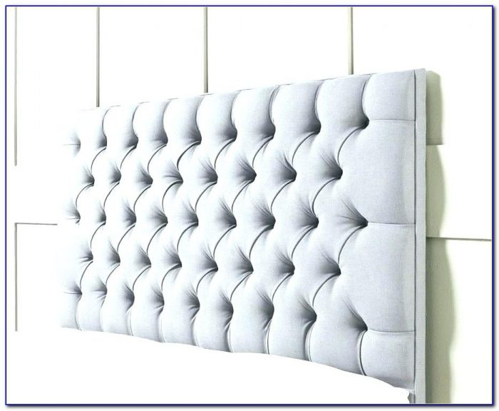 Queen Size Bed With Padded Headboard