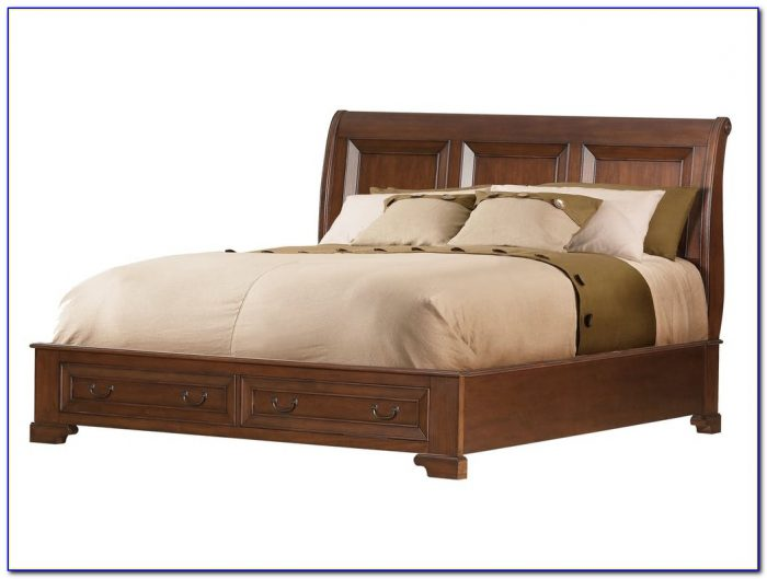 Queen Size Platform Bed With Headboard And Footboard