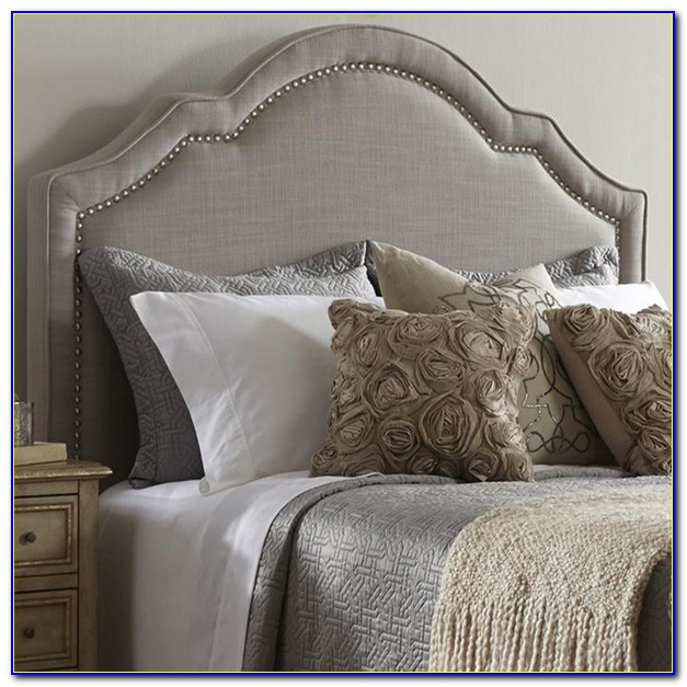 Queen Size Upholstered Headboard And Frame