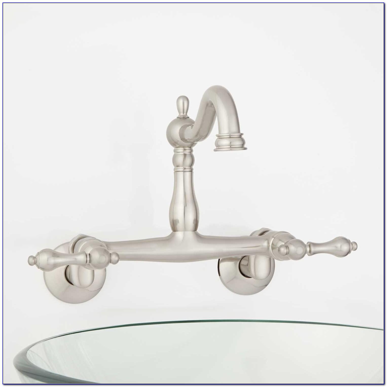 Wall Mount Bridge Lavatory Faucet Wall Mount Bridge Lavatory Faucet Escutcheon Sink Faucet Signature Hardware 1500 X 1500