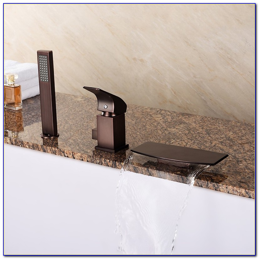 Roman Tub Faucet With Hand Shower Oil Rubbed Bronze