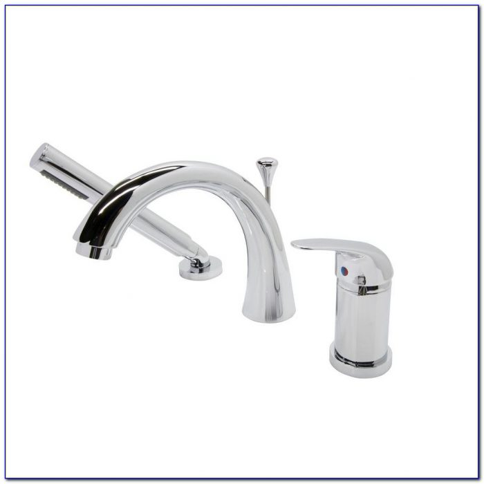 Roman Tub Faucets With Sprayer