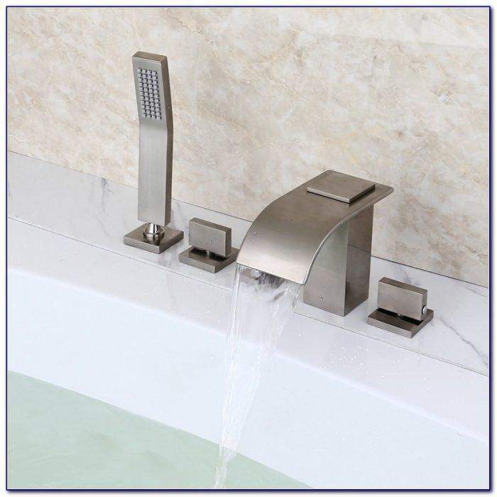 Roman Waterfall Bathtub Faucet