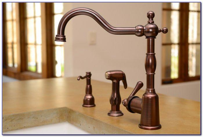 Rubbed Oil Bronze Kitchen Faucet