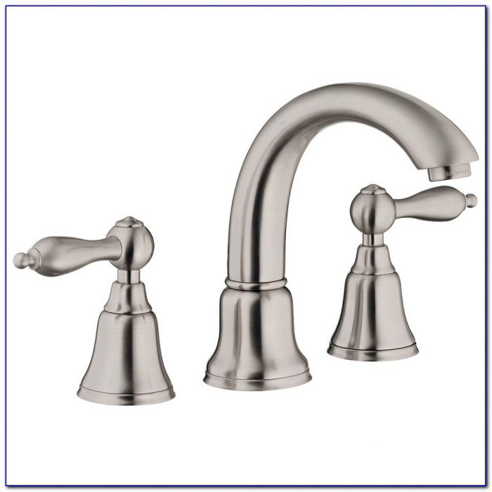 Single Hole Bathroom Sink Faucet Brushed Nickel