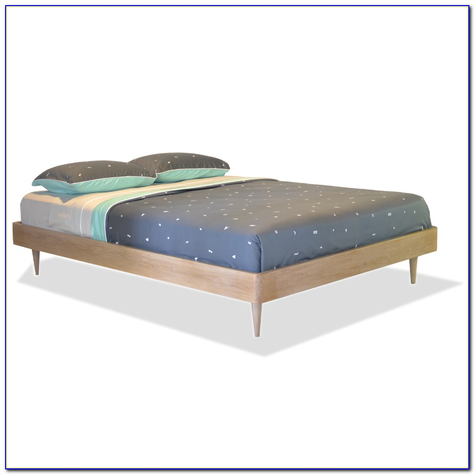 Single Wooden Bed Frame Without Headboard