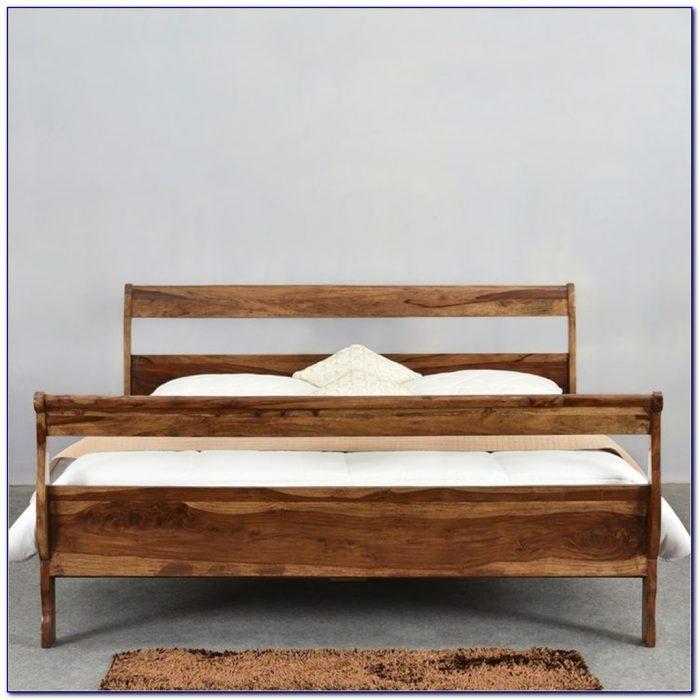 Solid Wood White Twin Headboard