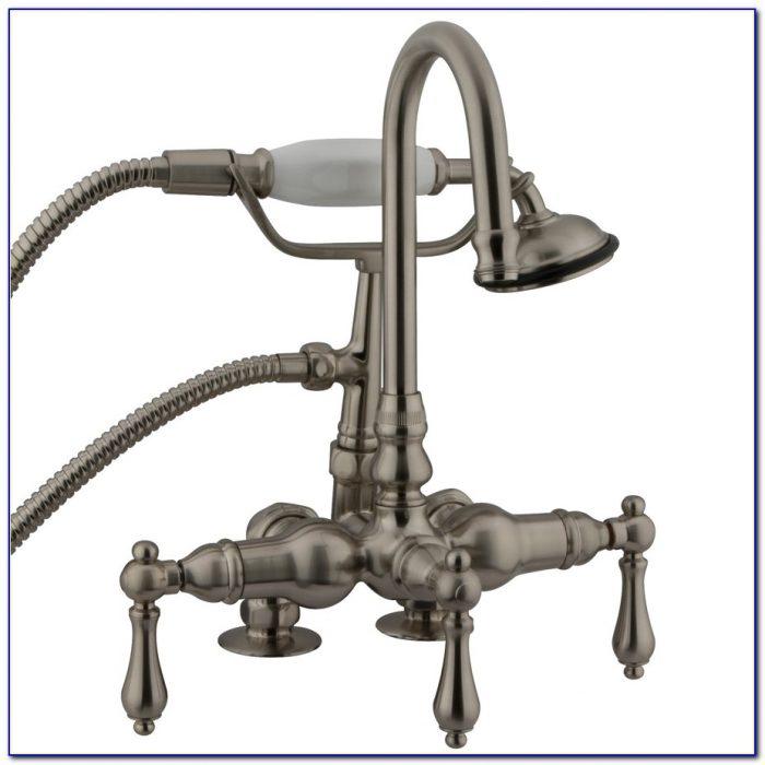 Three Handle Bathroom Faucet