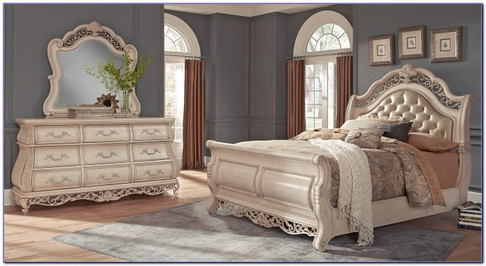 Tufted Headboard Bed Bedroom Furniture