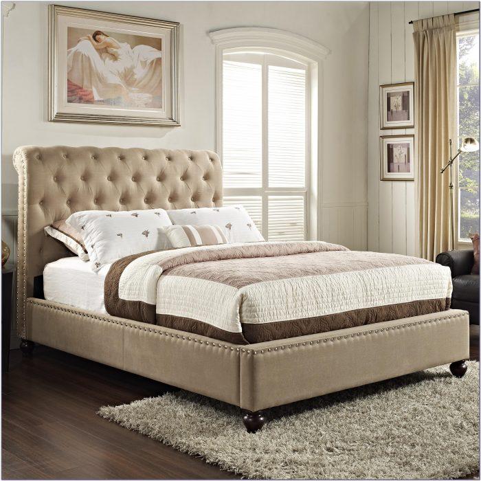 Tufted Headboard King Bed Set