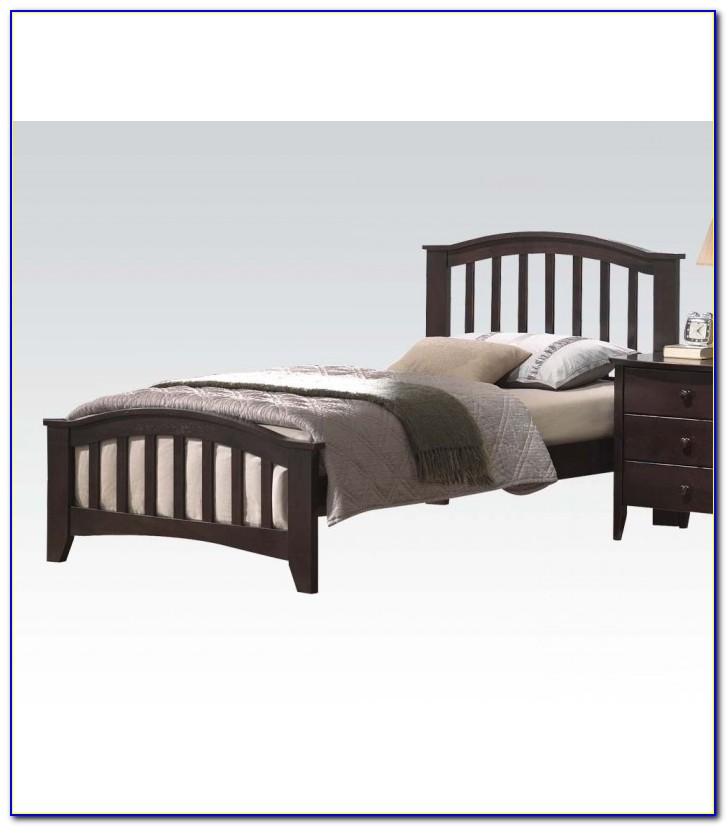 Twin Bed Frame For Headboard And Footboard