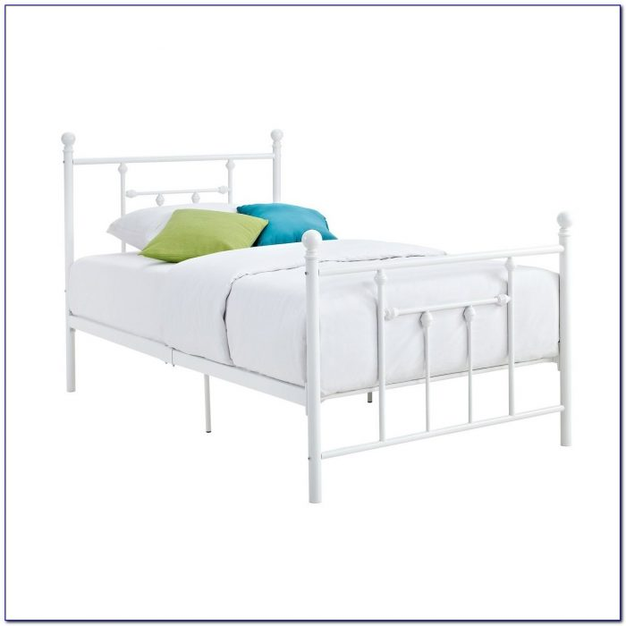 Twin Bed Frame With Headboard Attachment