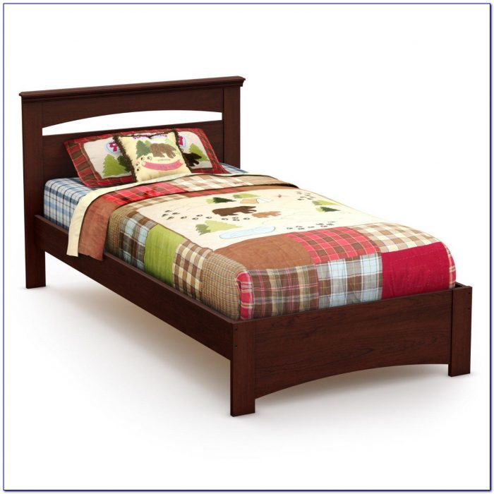 Twin Bed Frame With Headboard Storage