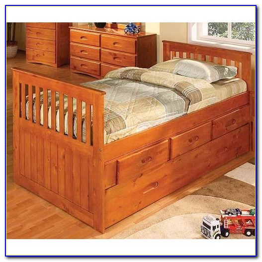 Twin Bed With Headboard And Footboard