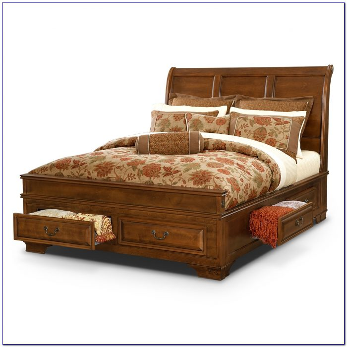 Twin Beds With Headboard Storage