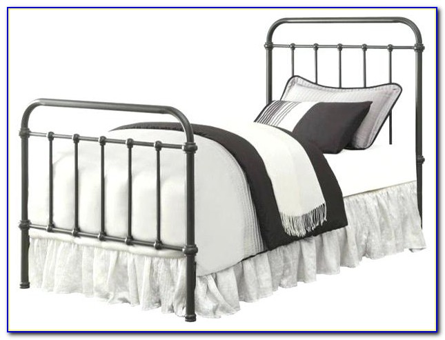 Twin Metal Bed Headboard And Footboard