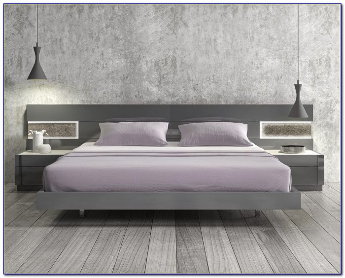 Twin Platform Beds With Headboards