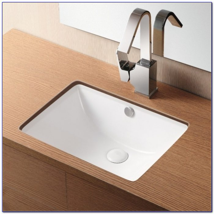 Undermount Sink With Faucet Holes