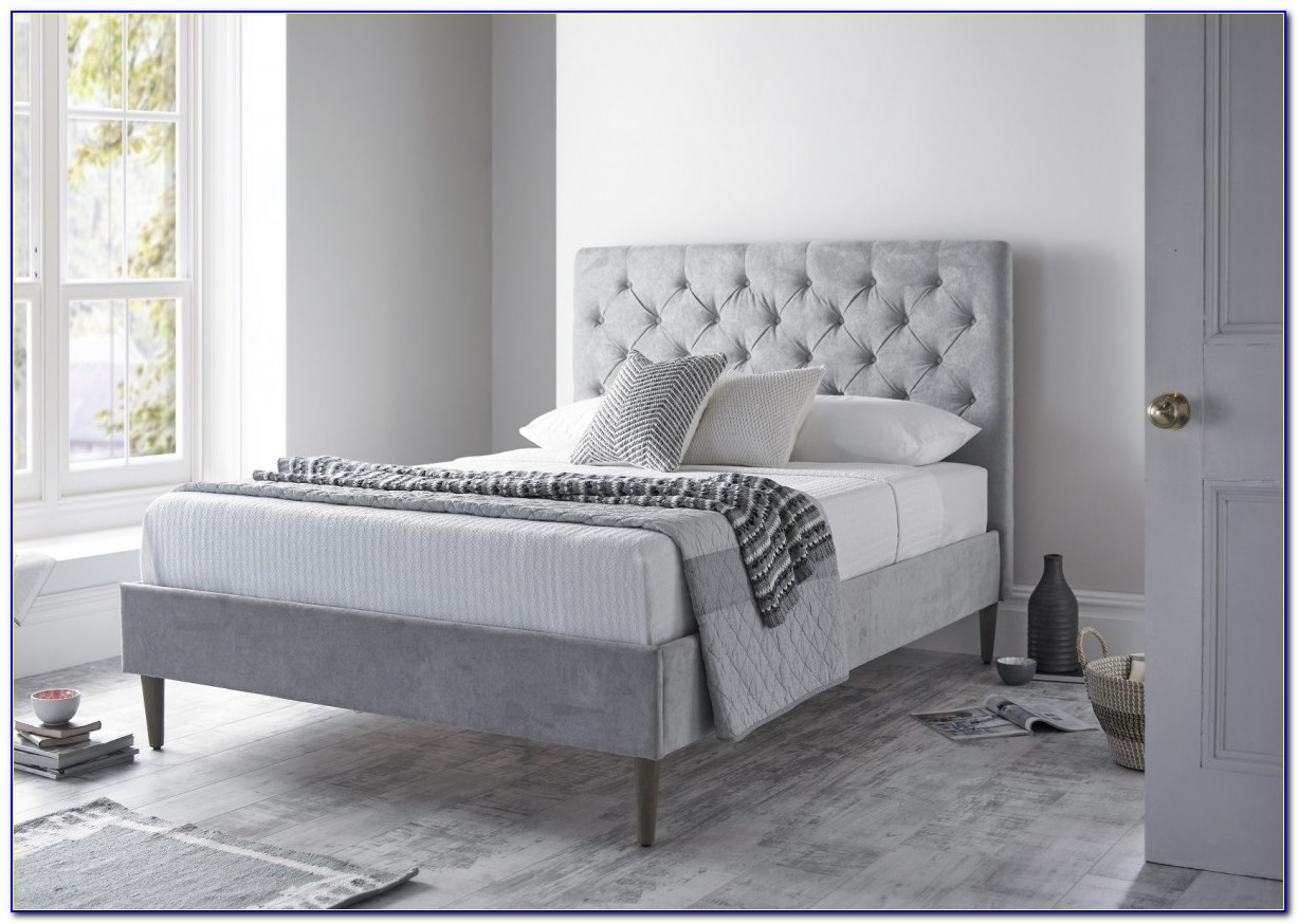 Upholstered Headboard And Bed Frame