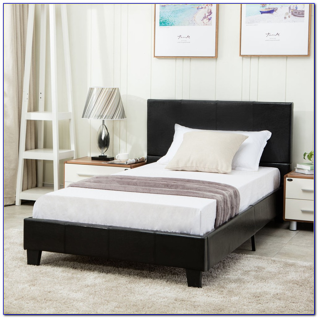 Upholstered Headboard Attached To Bed Frame