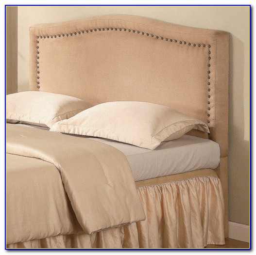 Upholstered Headboards With Silver Nailheads