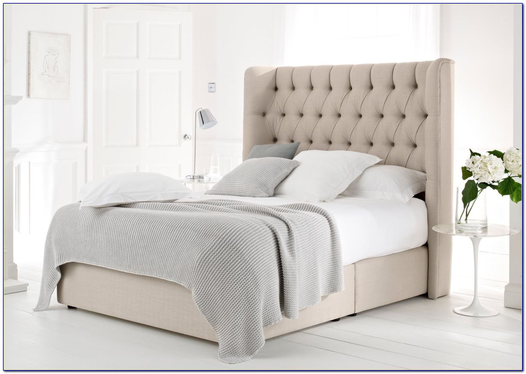 Upholstered King Size Headboards