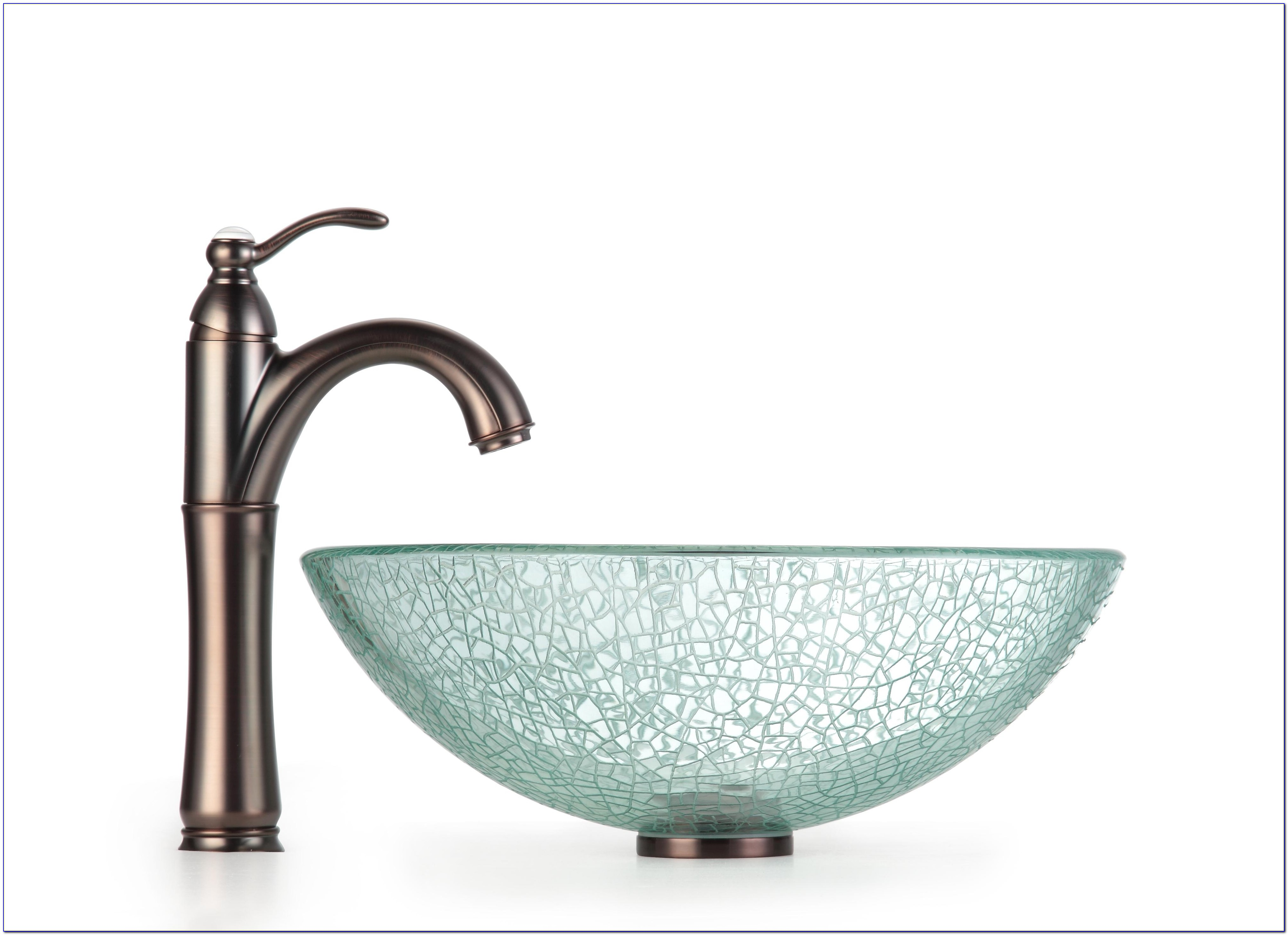 Bathroom Vessel Sink And Faucet Combo Glass Vessel Sinks With Regard To Measurements 4026 X 2914