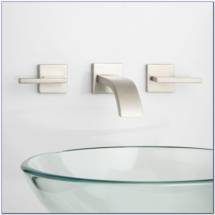 Wall Mounted Faucets Bathroom Sink