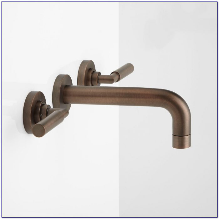 Wall Mounted Lavatory Sink Faucet