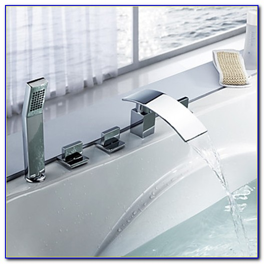 Waterfall Bathtub Faucets