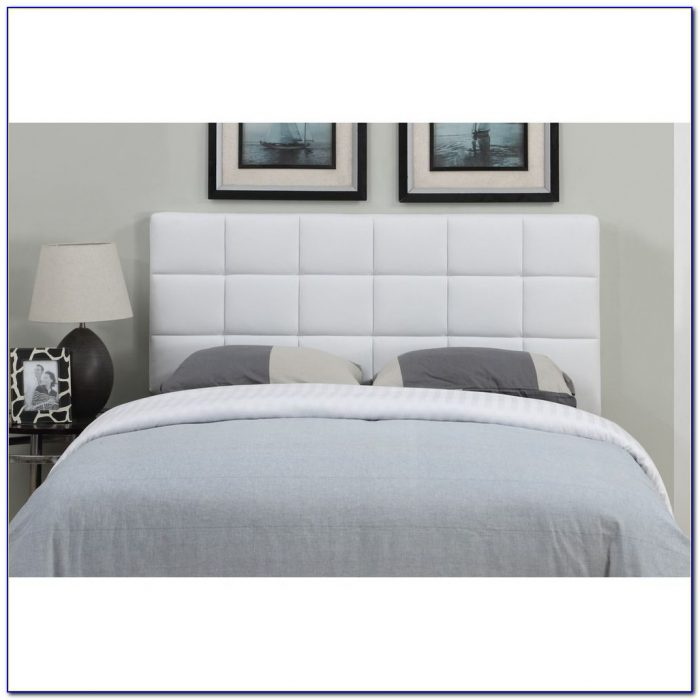 White Metal Queen Size Headboards