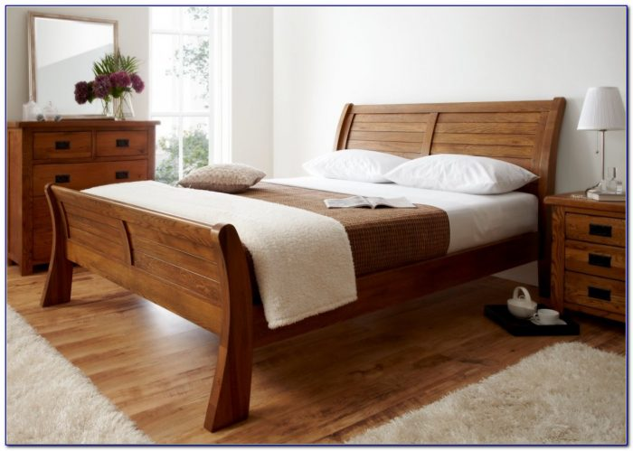 White Oak King Size Headboard
