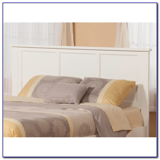 White Wicker Queen Size Headboards