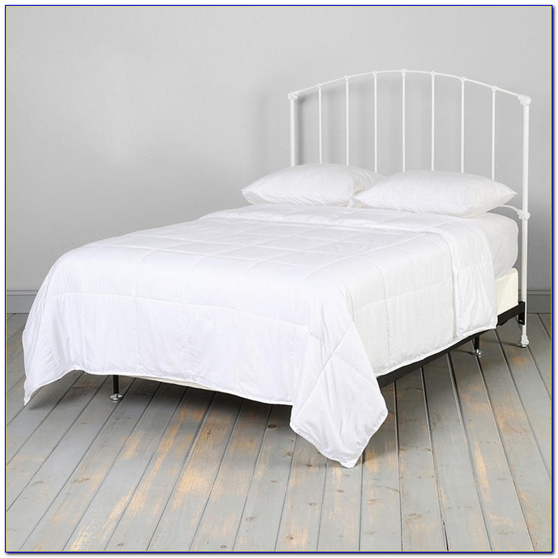 White Wrought Iron Full Size Headboard