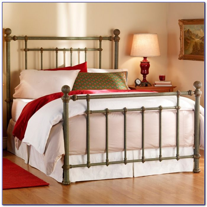 White Wrought Iron King Size Headboards