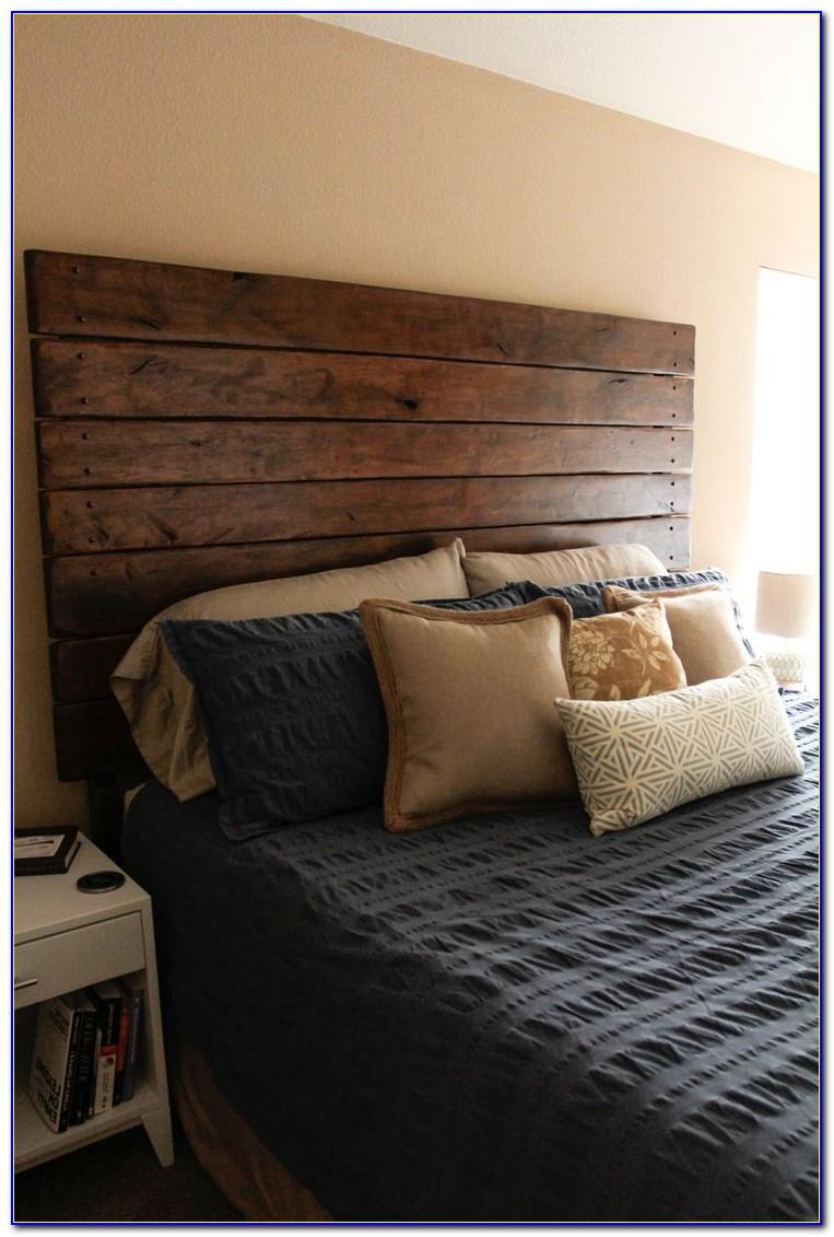Wood And Fabric Headboard Ideas