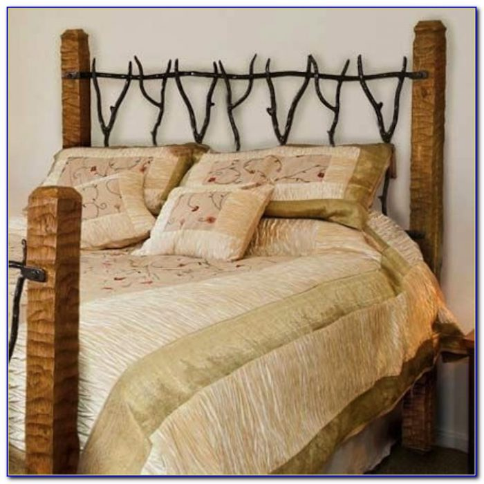 Wood And Iron Headboards