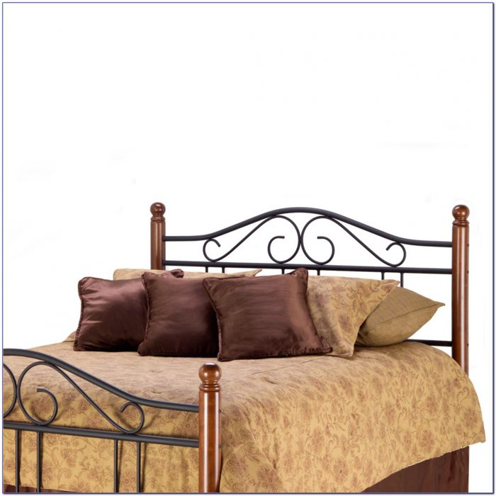 Wood And Wrought Iron Headboards