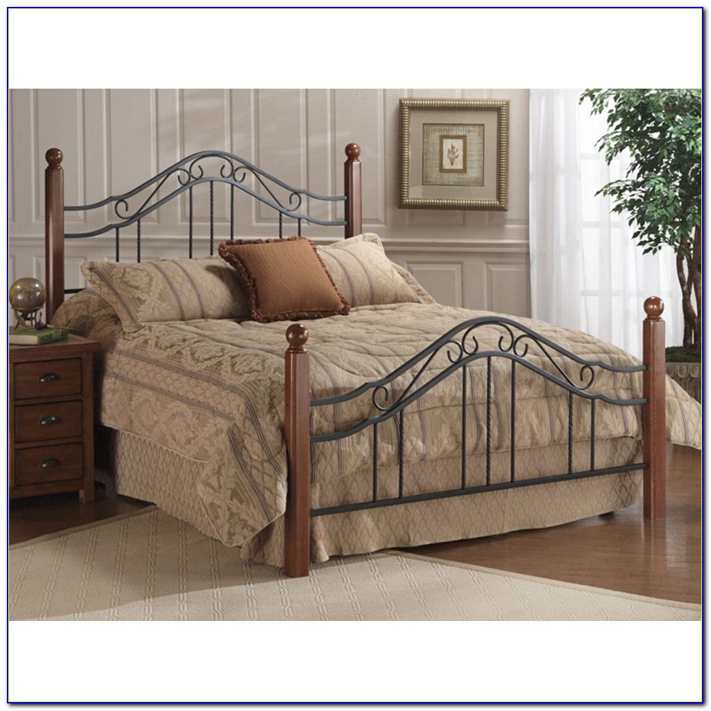 Wood And Wrought Iron Headboards King