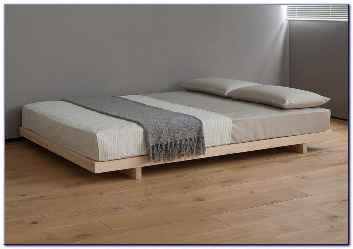 Wood Bed Frame No Headboard