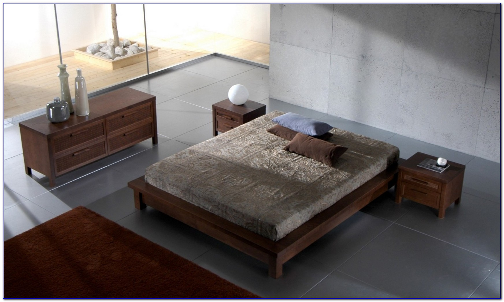 Wood Bed Frame Without Headboard
