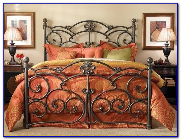 Wrought Iron Beds King
