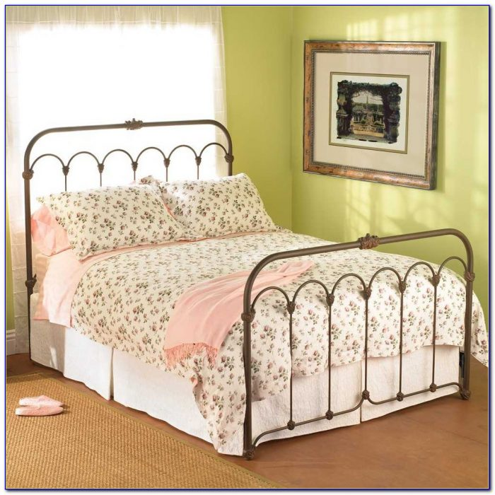 Wrought Iron Headboard And Footboard Queen
