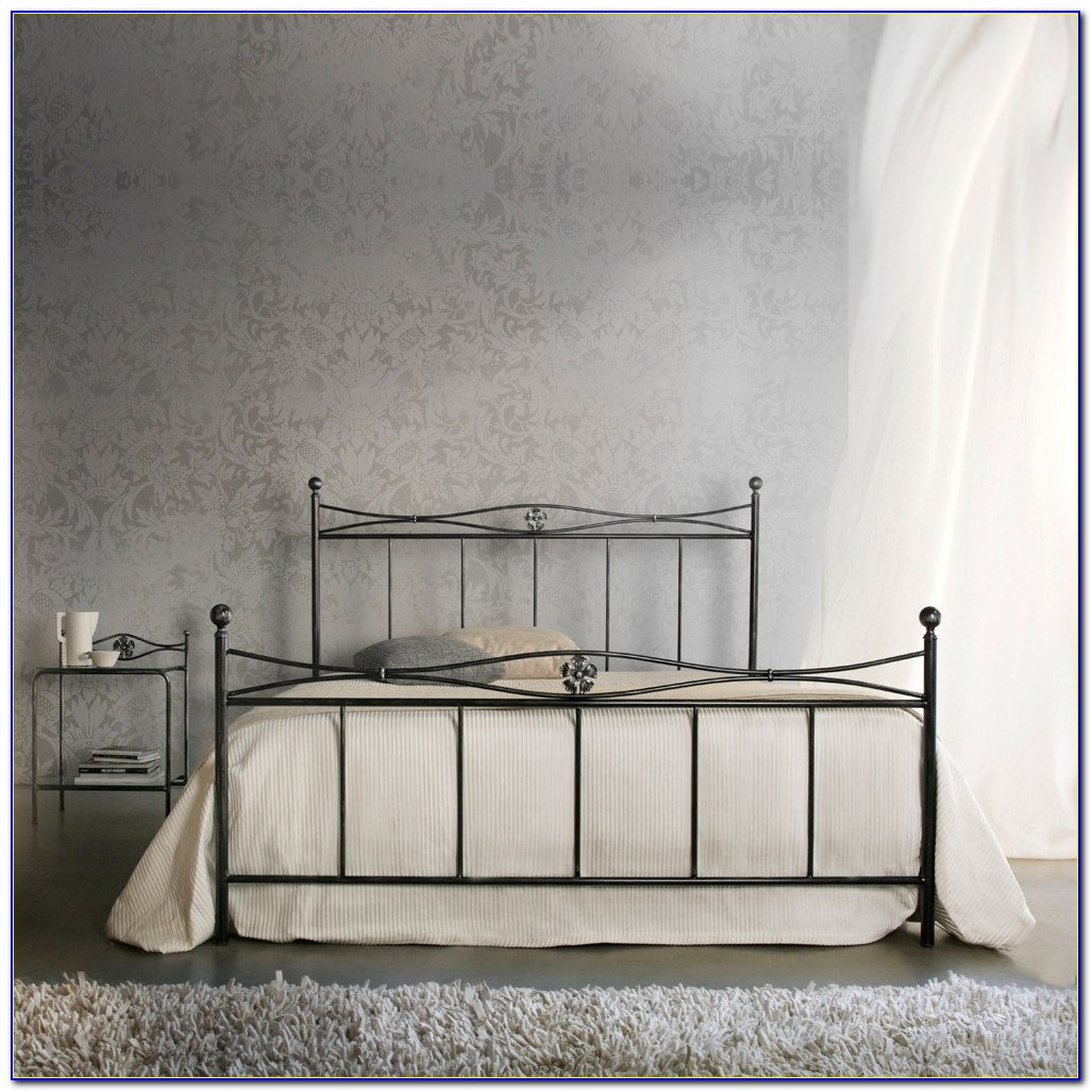 Wrought Iron Headboard California King