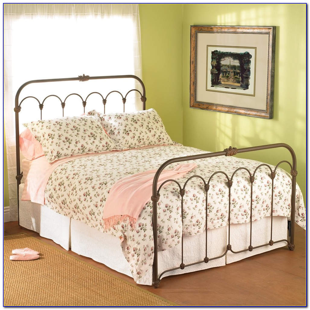 Wrought Iron Headboard King Size