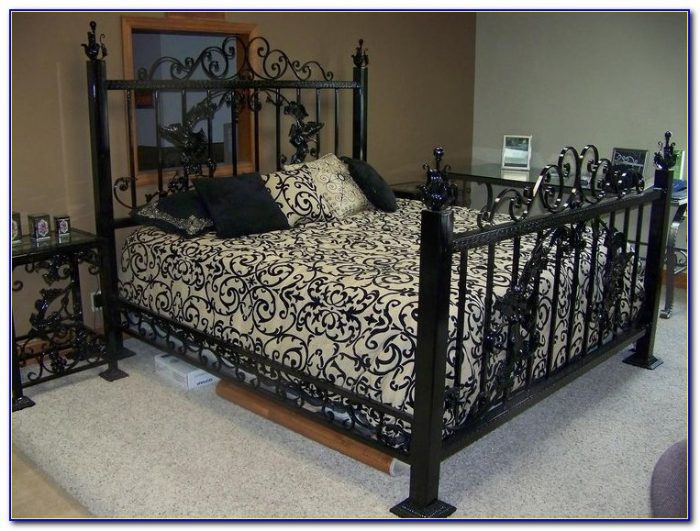 Wrought Iron King Beds Australia