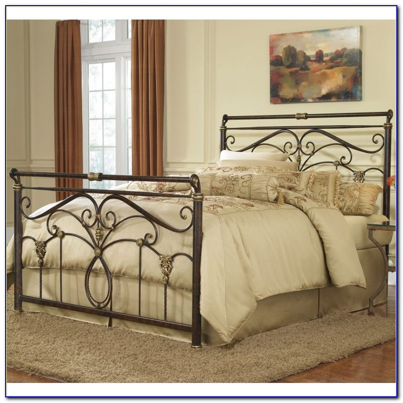 Wrought Iron King Size Headboard