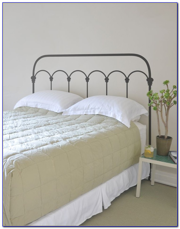Wrought Iron Queen Headboard And Footboard