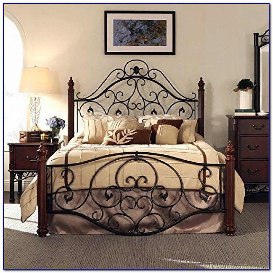 17 Best Ideas About Wrought Iron Beds On Pinterest Wrought Iron Iron Bed Frames Queen